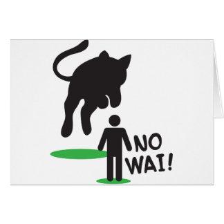 No Wai! CAT ATTACK! Card