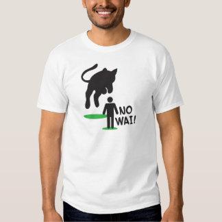 No Wai! CAT ATTACK! Tee Shirt