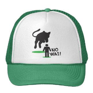 No Wai! CAT ATTACK! Trucker Hat