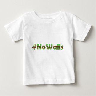 #No Walls Baby T-Shirt