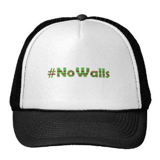 #No Walls Trucker Hat