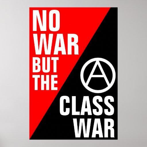 no war but the class war poster