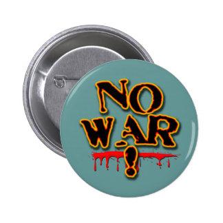 NO WAR! PINBACK BUTTONS