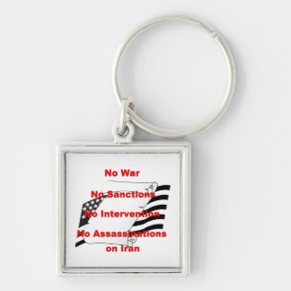 No War No Sanctions Keychain