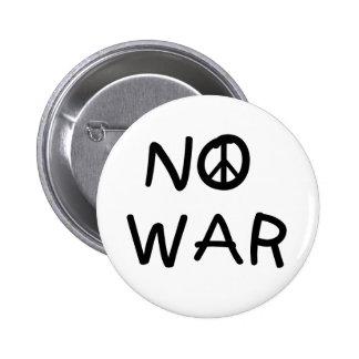 NO War Pin