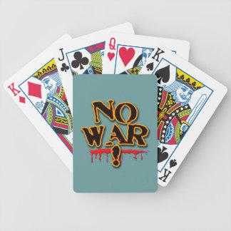NO WAR! BICYCLE PLAYING CARDS
