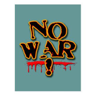 NO WAR! POST CARD