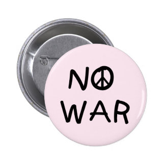 NO War T-shirts and Gifts Button