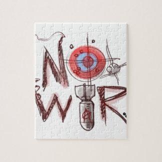 no war text based illustration jigsaw puzzle