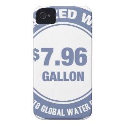 No Water Barons! iPhone 4 Case-Mate Case
