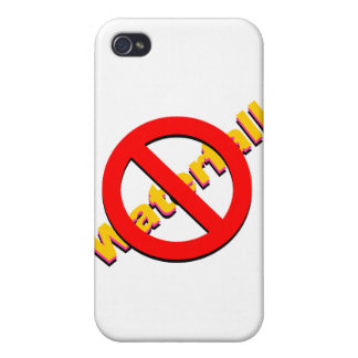 No Waterfall iPhone 4 Cover