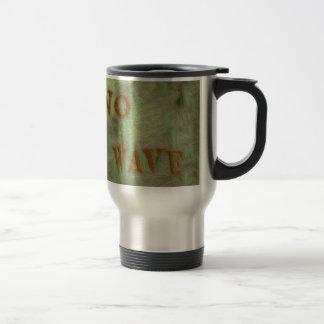 No Wave Soft Grungy Design Travel Mug