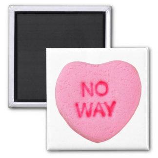 No Way Anti-Valentine Magnet