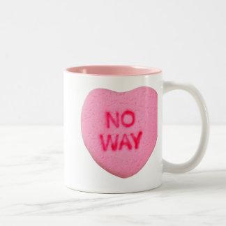 No Way Anti-Valentine Mugs