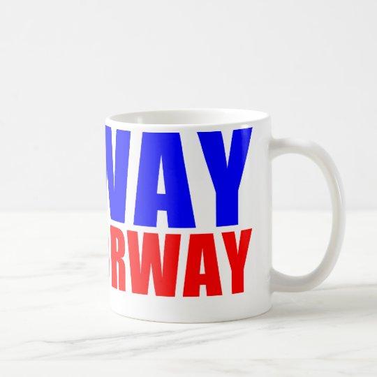 NO WAY BUT NORWAY COFFEE MUG