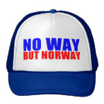 NO WAY BUT NORWAY TRUCKER HAT