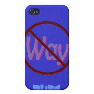 No Way Dude iPhone 4/4S Covers