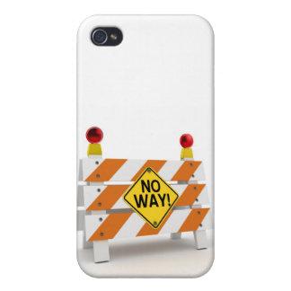 No way! - iPhone 4 case