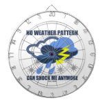 No Weather Pattern Can Shock Me Anymore Dart Board