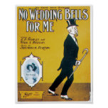 No Wedding Bells For Me poster