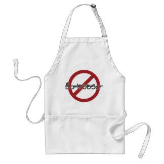 No Whining apron (ASL)