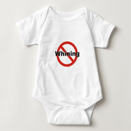 no whining baby bodysuit
