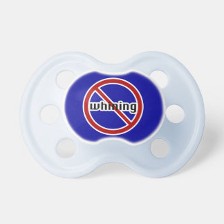 No Whining Baby Pacifier