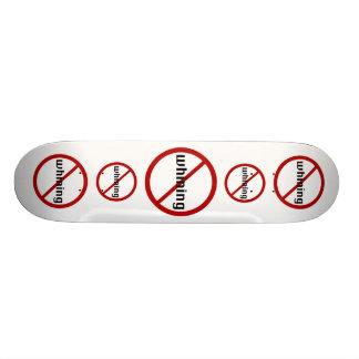 No Whining Skateboard