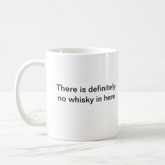 No whisky in here mug