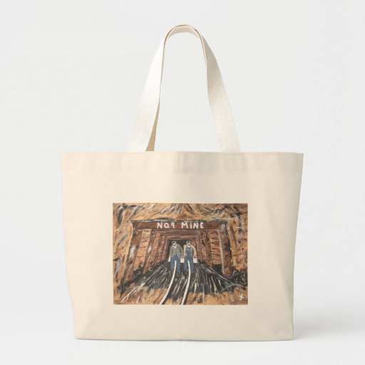 No Windows Down There Large Tote Bag