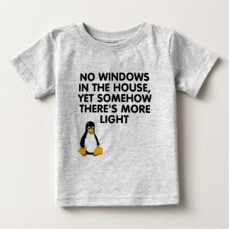 No windows in the house... baby T-Shirt