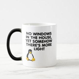 No windows in the house... magic mug