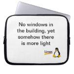 No Windows Linux Laptop Sleeve
