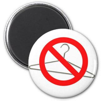 No Wire Hangers!!! 2 Inch Round Magnet
