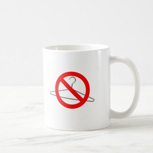 No Wire Hangers!!! Classic White Coffee Mug