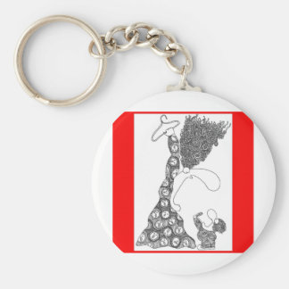 No wire hangers key chains