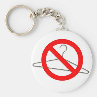 No Wire Hangers Key Chain