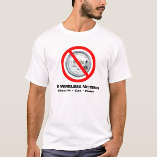 No Wireless Meters T-Shirt
