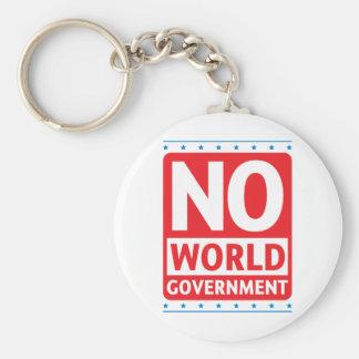 No World Government #1 Keychain
