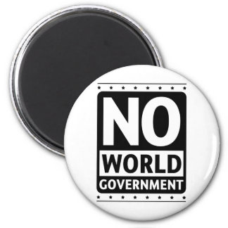 No World Government #1 Magnet