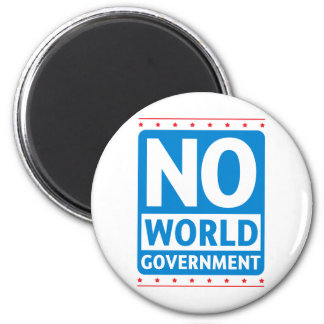 No World Government #1 Magnet