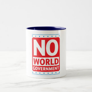 No World Government #1 Mugs