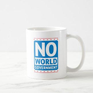 No World Government #1 Coffee Mugs