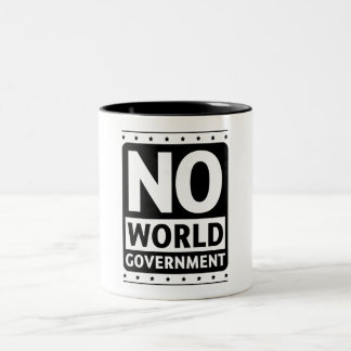 No World Government #1 Mug