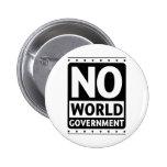 No World Government #1 Pin