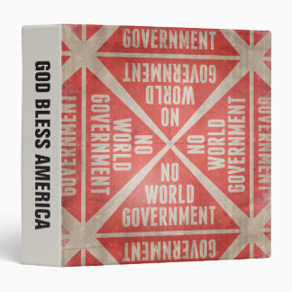 No World Government Binder