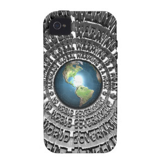 No World Government Case-Mate iPhone 4 Cases