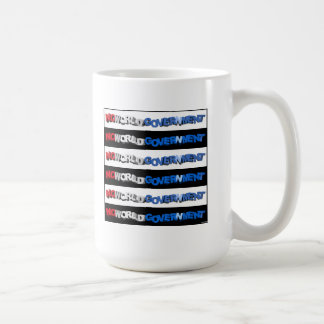No World Government Classic White Coffee Mug