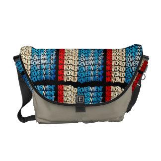 No World Government Courier Bag