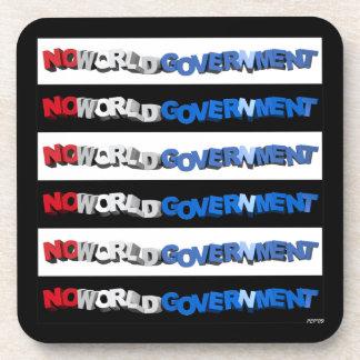 No World Government Drink Coaster